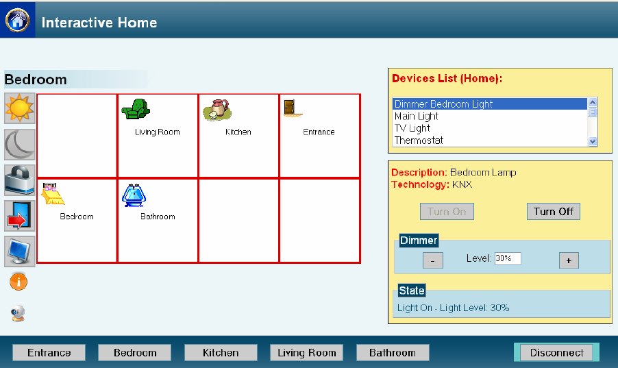 Multidevice User Interfaces for Home Applications